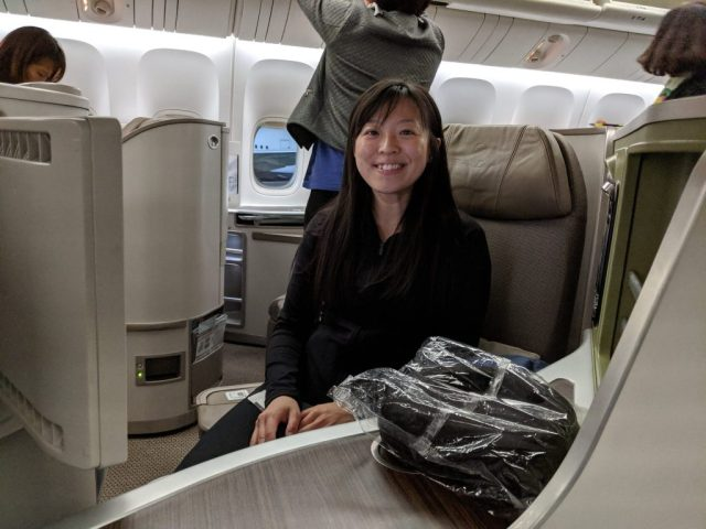 eva air business class review