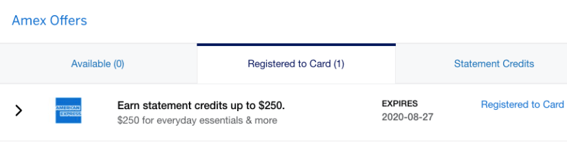 American Express Platinum $250 Statement Credit, American Express Platinum $250 Statement Credit (Free Groceries and Uber Eats!)