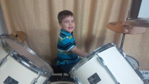 Learning to Play Drums