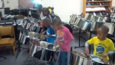 Students Playing Pan
