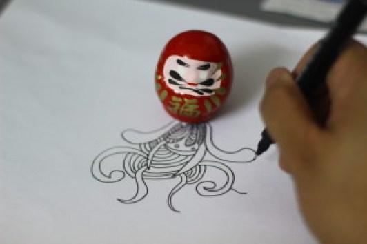 Doodling in progress
