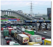 Congested Dartford Crossing