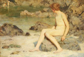 Cupid and Sea Nymphs