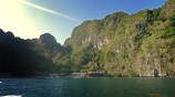 Miniloc Island, El Nido, from the Boat