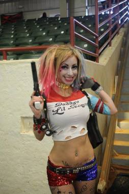 Angie Starr as Harley Quinn at SGF!