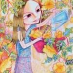 Kenfortes_Girl watering plants