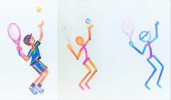 STICK FIGURES- ONLINE ARTS CLASSES BANGALORE