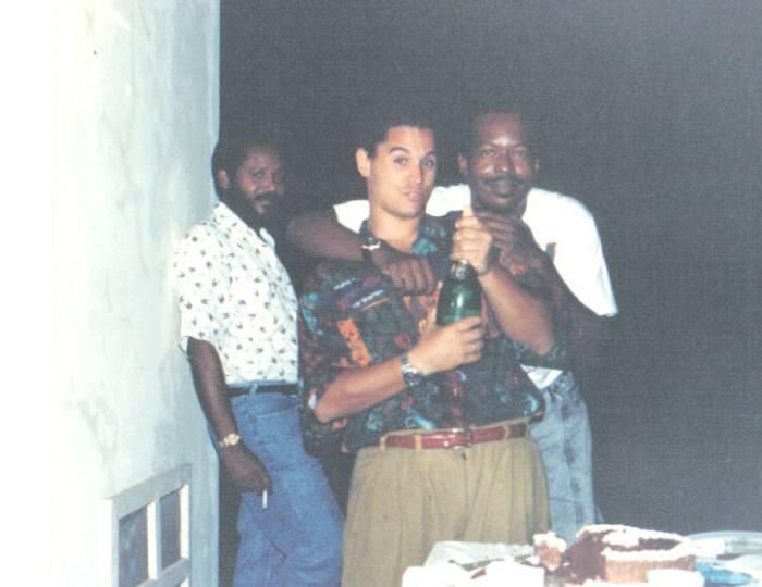 With Tony Laronde and Curtis Raae