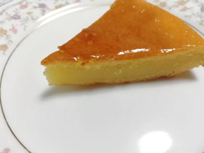 食材宅配コープデリ 北海道チーズケーキミックスカット後