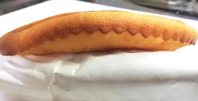 食材宅配コープデリ 北海道チーズケーキミックス厚さ