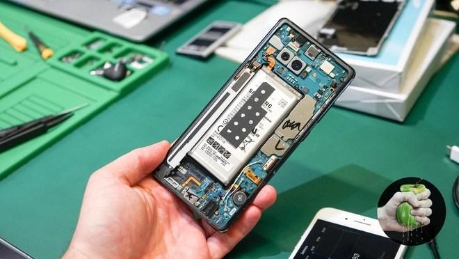 Ký sự đem Samsung Galaxy Note 8 bị vỡ màn hình đi sửa: Đầy những bất ngờ - Ảnh 9.