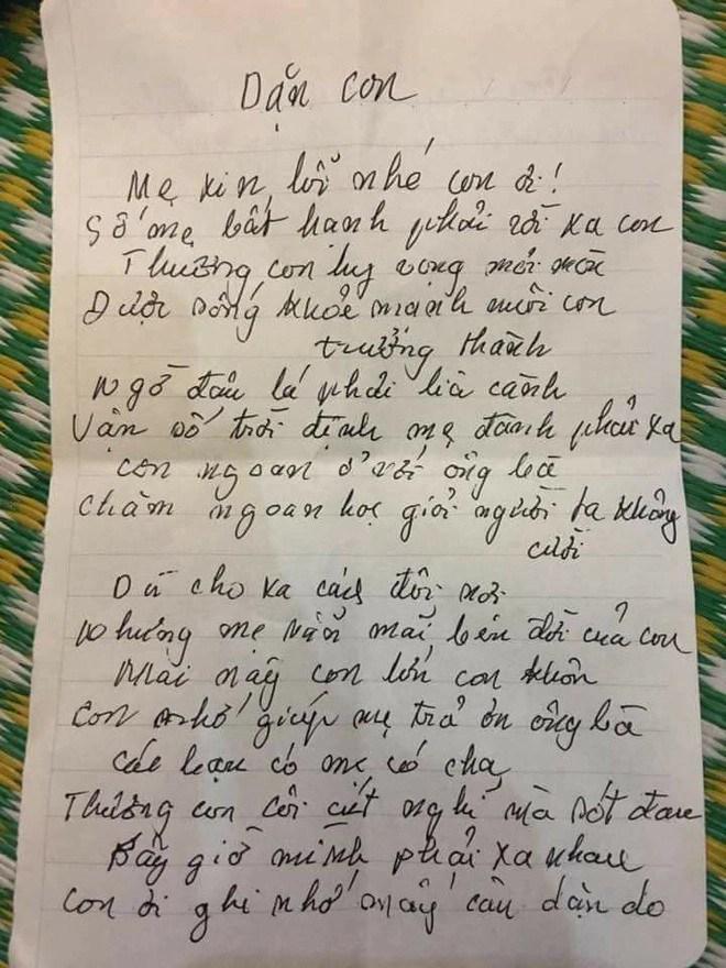 Bức thư của người mẹ đơn thân ung thư viết cho con trai trước khi qua đời: Các bạn có mẹ có cha, thương con côi cút nghĩ mà xót đau - Ảnh 4.