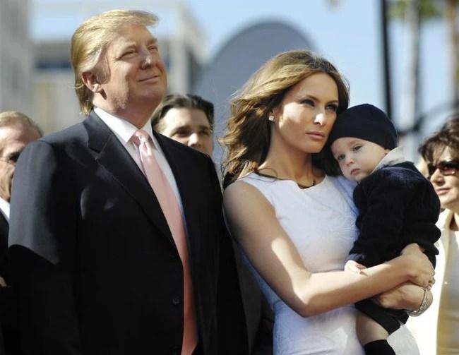 Con trai út cực điển trai của ông Donald Trump cũng là nhân vật hot không kém trong ngày hôm nay - Ảnh 6.