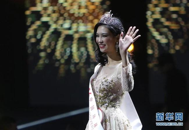 Tân Hoa hậu Hoàn cầu Trung Quốc bị chê già nua, kém sắc so với dàn Á hậu dù sở hữu chiều cao khủng - Ảnh 5.