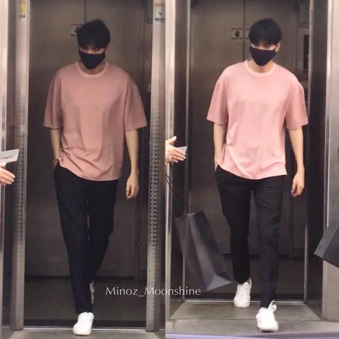 Bạn trai quốc dân Lee Min Ho: đi nhập ngũ mà vẫn mặc đẹp muốn xỉu - Ảnh 4.