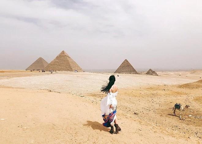 Bộ ảnh du lịch Ai Cập của cô bạn xinh đẹp: Xem xong sẽ thấy rất đáng để ước mơ ghé thăm một lần - Ảnh 5.