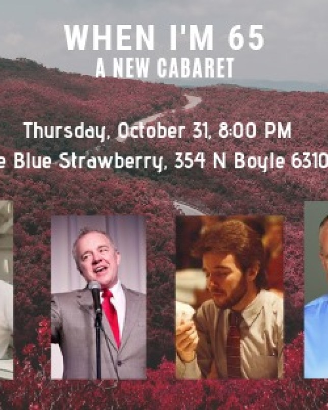 When I'm 65, A New Cabaret - The Blue Strawberry 2019