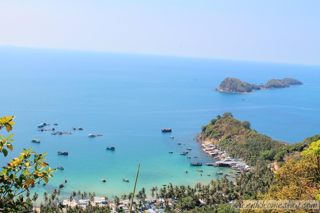 Cách Humiso Nam Du resort 63m để ngắm cảnh đẹp nhất đảo