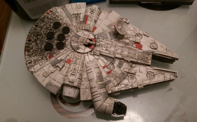 Revell 1241 Millennium Falcon Shanes Shed