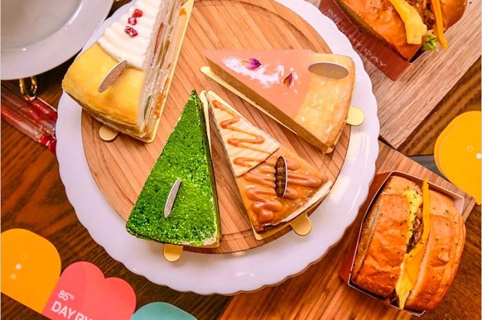 台中美食   85度C DAY BY DAY(美村店)-網美系必吃舒芙蕾甜點+千層蛋糕,美味厚煎吐司、咖啡奶奶超推人氣美食必點。