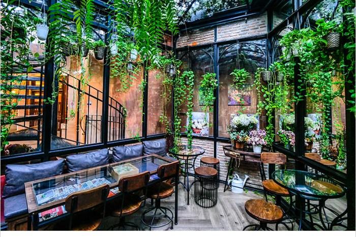 泰國曼谷咖啡廳 | The Blooming Gallery(Thong Lo)-曼谷花園森林系咖啡廳,早午餐、下午茶、甜點,超好拍照,網美必訪。
