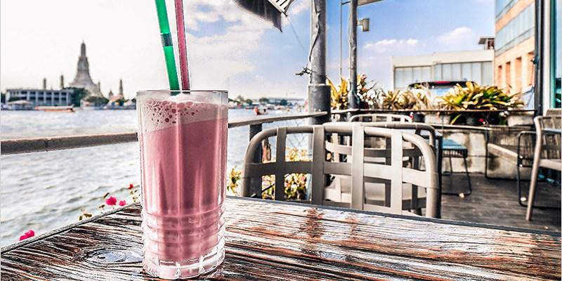 泰國曼谷咖啡廳 | VIVI The Coffee Place-昭披耶河畔能看到鄭王廟的景觀咖啡廳,冷氣開放,價格也不貴哦!