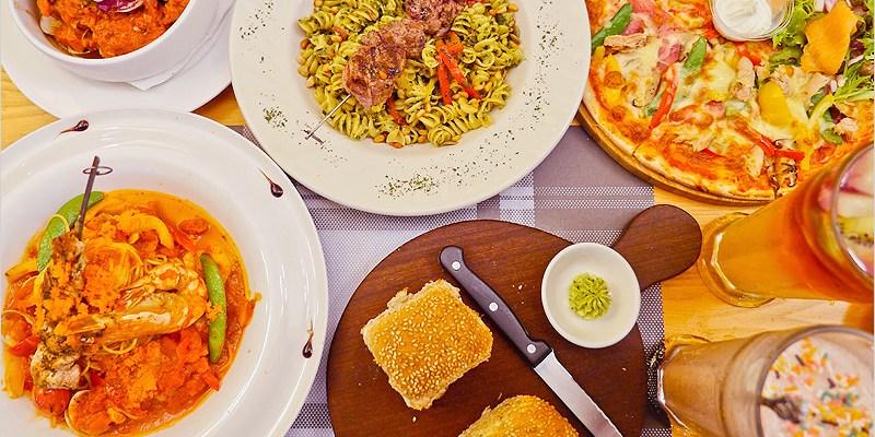 台中義大利麵   Fatty's 義式創意餐廳(公益店)-每天手工新鮮製麵,多款麵條自由搭配,雙拼披薩好好吃。