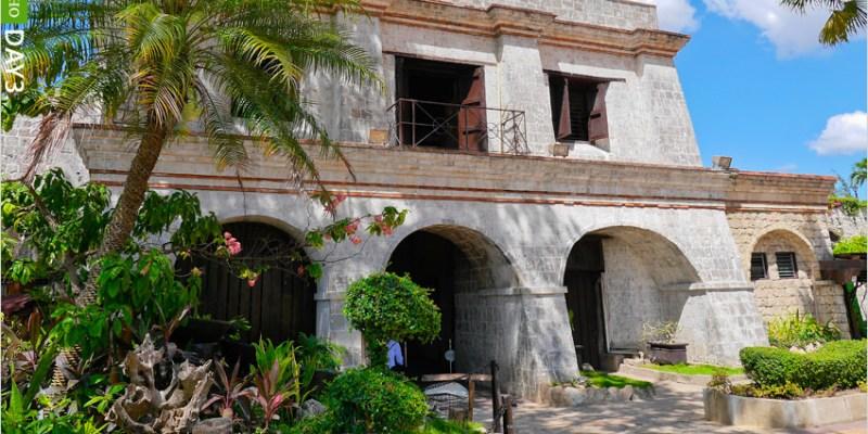 [菲律賓宿霧旅遊]聖彼得古堡,菲律賓最古老的城堡 @從薄荷島搭乘飛翼船到宿霧新鮮又有趣。