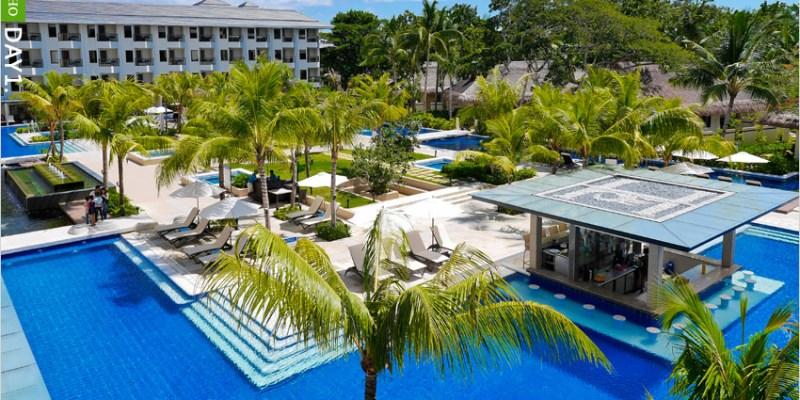 [菲律賓薄荷島住宿]Henann Resort Alona Beach(亞羅納海灘赫納度假酒店),房門推開就能游泳的渡假村,太酷了! @整個房門外都是我的游泳池