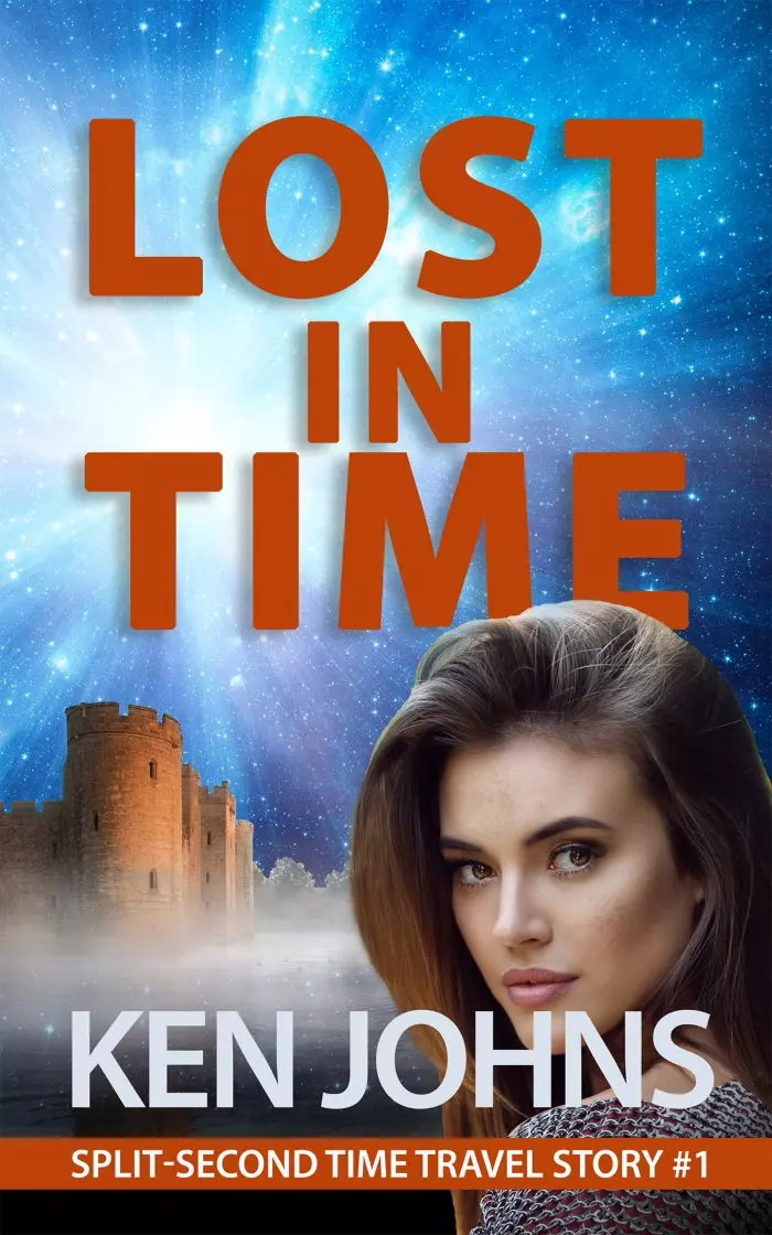 Lost in Time Book Cover by Ken Johns