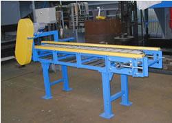 Wire netting net belt conveyor 1