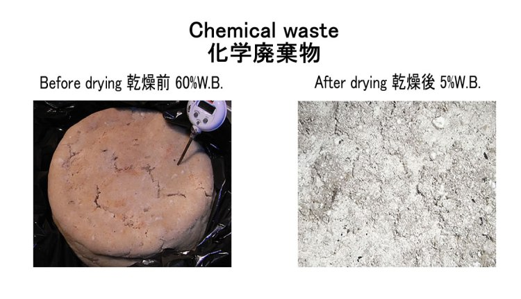 chemical waste kenki dryer waste drying 18.10.2017