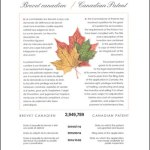 Canada Patent certificate kenki dryer 1/10/2019