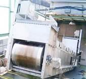 連続ベルトコンベヤ式汚泥乾燥機 1号機