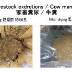 家畜糞尿乾燥 牛糞乾燥 廃棄物乾燥 kenki dryer 2018.4.11