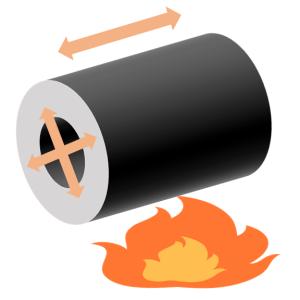 線膨張 ステンレス ヒートポンプ汚泥乾燥機,kenki dryer 2020.7.28