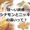 シナモン・肉桂・ニッキ・桂皮・カシア・セイロンの違いと効果効能!漢方薬&副作用も