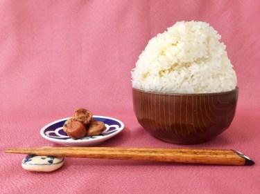 米1合は何g?炊くとご飯の重さは何倍になるのか?