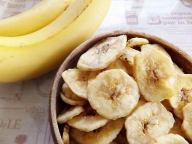 とてもヘルシー!電子レンジを使ったバナナチップスの作り方