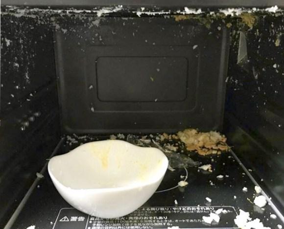 電子レンジを使って卵とお湯で簡単にできるお役立ちメニュー