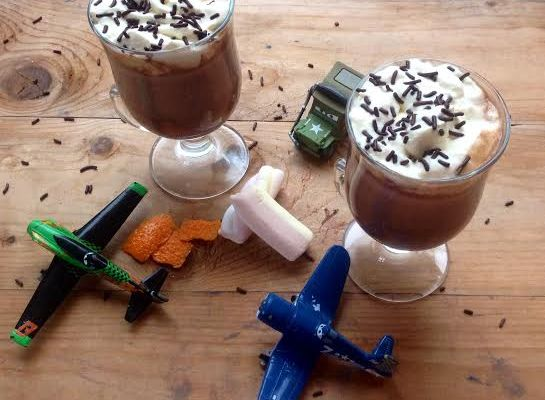 Hot Chocolate for my boys!