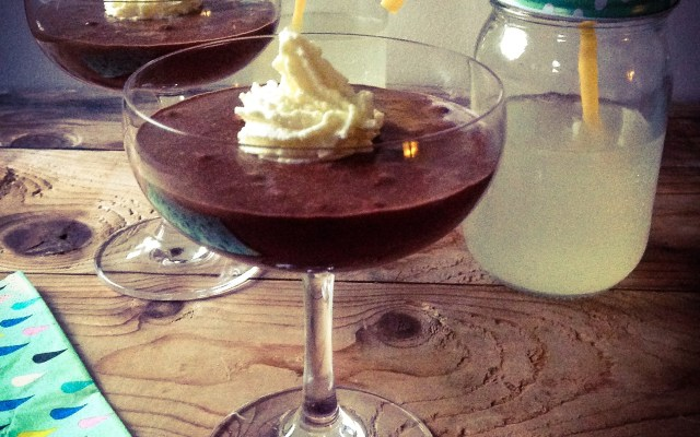 Dark Rum and Chocolate Mousse