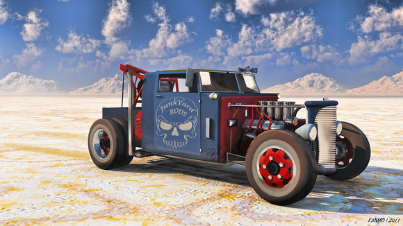 Hot Rod Tow Truck