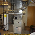 hvac system before installation