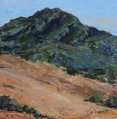 Mt Tam from Ring Mountain