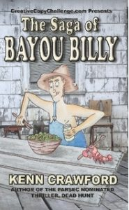The saga of bayou billy book cover