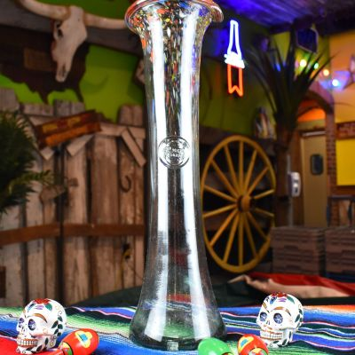 Hand Blown Margarita Pitcher (from Mexico)