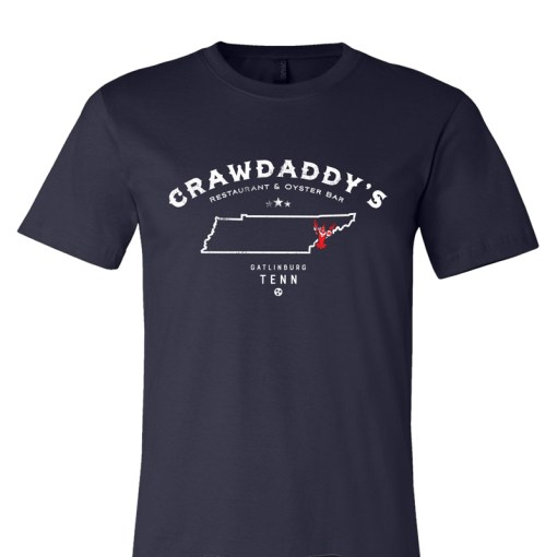 Crawdaddy's Tennessee T-Shirt (Navy Blue)