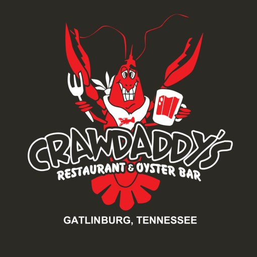 Crawdaddy's Tennessee T-Shirt (Black)