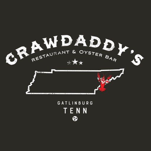 Crawdaddy's Tennessee T-Shirt (Black)